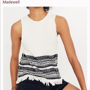 Madewell Villa Grove Sweater Tank